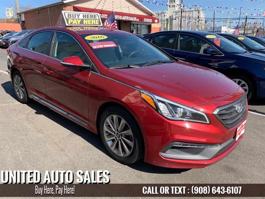 Used 2016 Hyundai Sonata in Newark, New Jersey | United Auto Sale. Newark, New Jersey