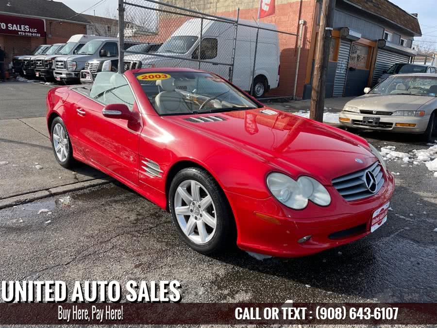 Used 2003 Mercedes-benz Sl in Newark, New Jersey | United Auto Sale. Newark, New Jersey