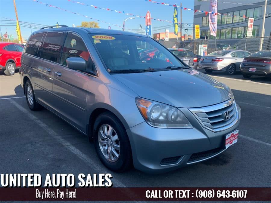 Used Honda Odyssey EXL 2008 | United Auto Sale. Newark, New Jersey