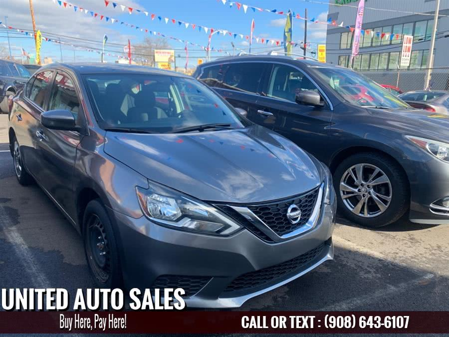 Used Nissan Sentra S 2016 | United Auto Sale. Newark, New Jersey