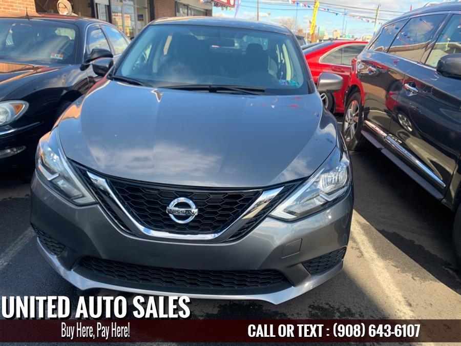 Used Nissan Sentra S 2016 | United Auto Sale. Newark, New Jersey