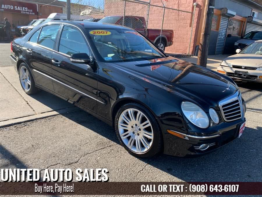 Used Mercedes-benz E-class E350 4MATIC 2007 | United Auto Sale. Newark, New Jersey