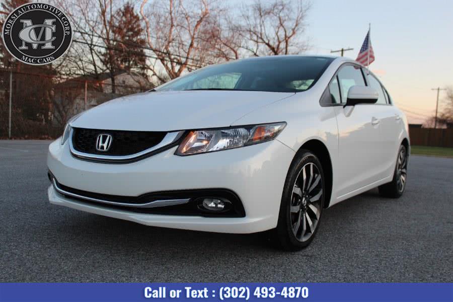 Used Honda Civic Sedan 4dr CVT EX-L 2014 | Morsi Automotive Corp. New Castle, Delaware