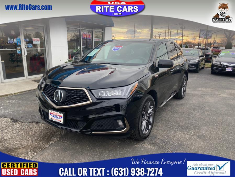Used Acura MDX SH-AWD w/Technology/A-Spec Pkg 2019 | Rite Cars, Inc. Lindenhurst, New York