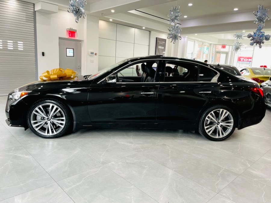 Used INFINITI Q50 3.0t SPORT 2018 | Luxury Motor Club. Franklin Square, New York