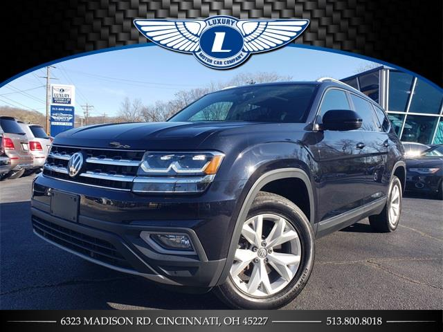 Used 2018 Volkswagen Atlas in Cincinnati, Ohio | Luxury Motor Car Company. Cincinnati, Ohio