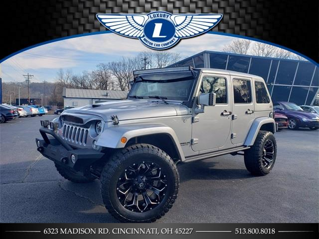 Used 2015 Jeep Wrangler in Cincinnati, Ohio | Luxury Motor Car Company. Cincinnati, Ohio