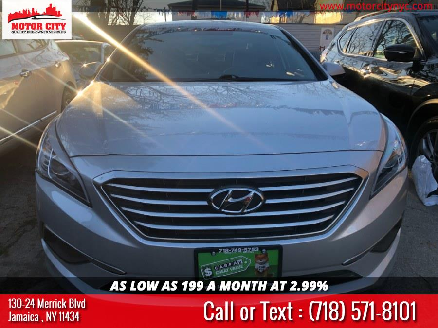 Used Hyundai Sonata 4dr Sdn 2.4L SE 2016 | Motor City. Jamaica, New York