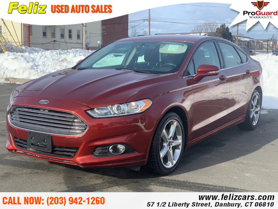 Used 2014 Ford Fusion in Danbury, Connecticut | Feliz Used Auto Sales. Danbury, Connecticut