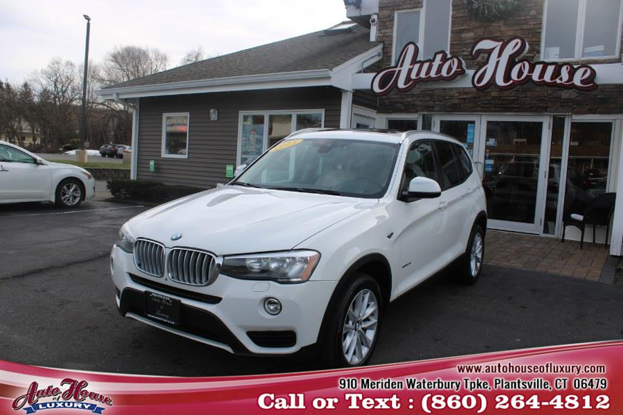 Used BMW X3 AWD 4dr xDrive28i 2015 | Auto House of Luxury. Plantsville, Connecticut