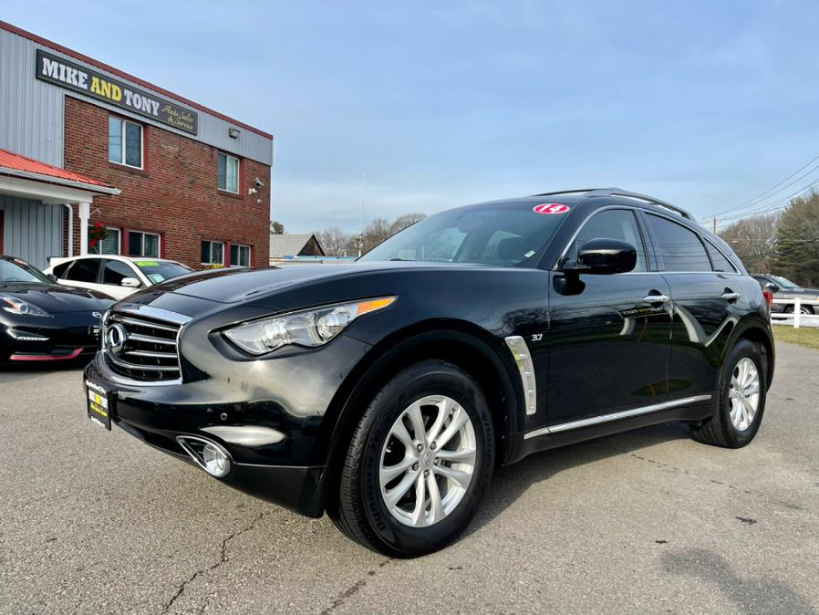 Used 2014 INFINITI QX70 in South Windsor, Connecticut   Mike And Tony Auto Sales, Inc. South Windsor, Connecticut