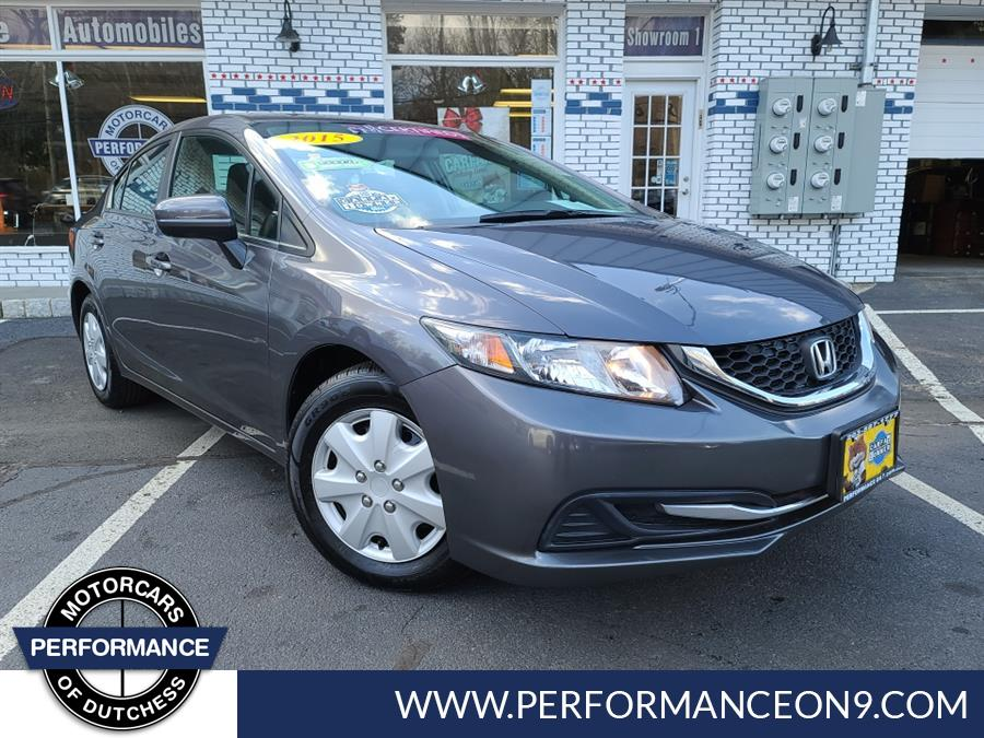 Used 2015 Honda Civic Sedan in Wappingers Falls, New York | Performance Motorcars Inc. Wappingers Falls, New York