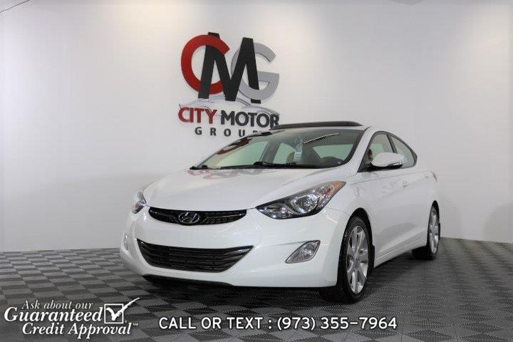 Used Hyundai Elantra Limited 2013 | City Motor Group Inc.. Haskell, New Jersey
