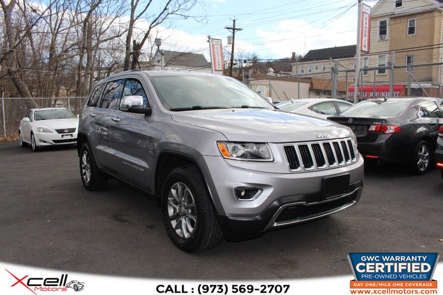 Used 2014 Jeep Grand Cherokee Limitedd in Paterson, New Jersey | Xcell Motors LLC. Paterson, New Jersey