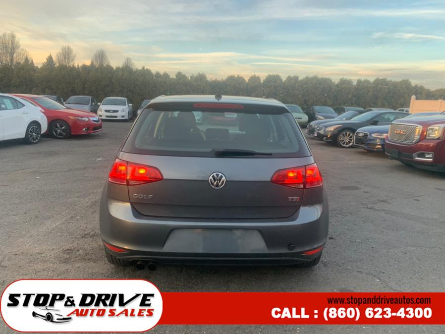 Used Volkswagen Golf 4dr HB Man TSI S 2016 | Stop & Drive Auto Sales. East Windsor, Connecticut