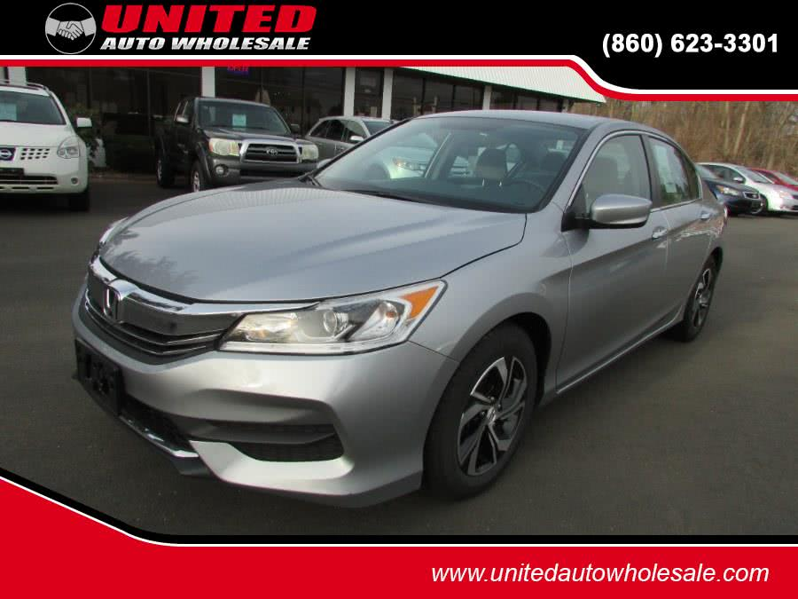 Used Honda Accord Sedan 4dr I4 CVT LX 2016 | United Auto Sales of E Windsor, Inc. East Windsor, Connecticut