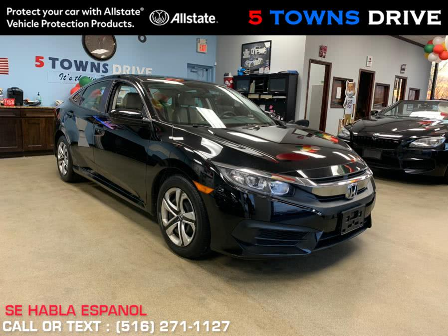 Used Honda Civic Sedan LX CVT 2018 | 5 Towns Drive. Inwood, New York