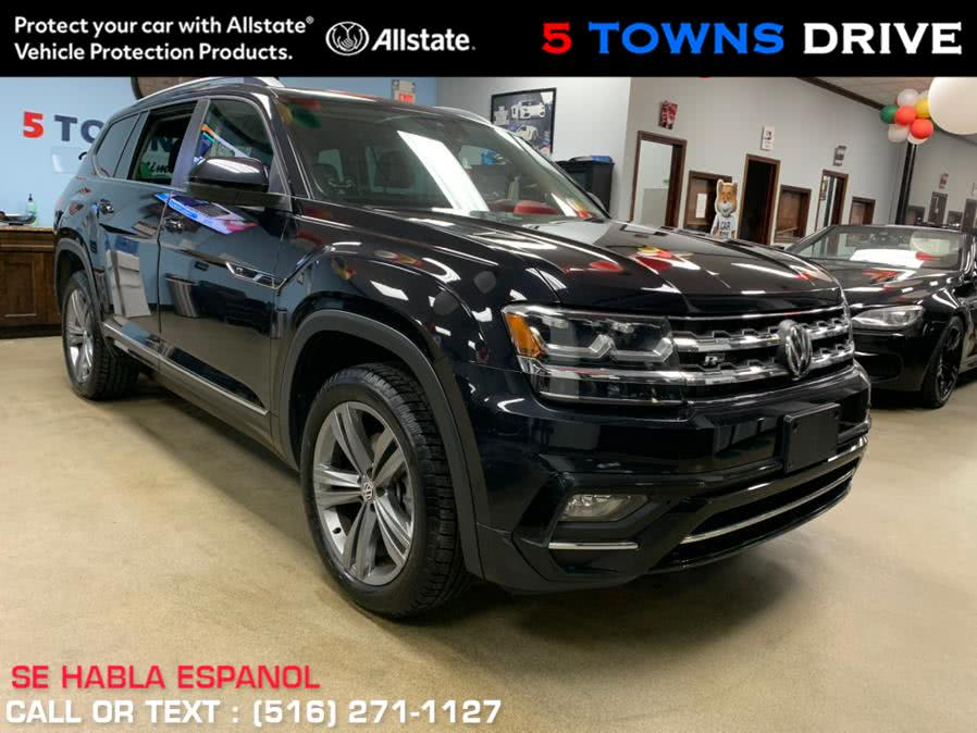 Used Volkswagen Atlas R-LINE 3.6L V6 SE w/Technology R-Line 4MOTION 2019 | 5 Towns Drive. Inwood, New York