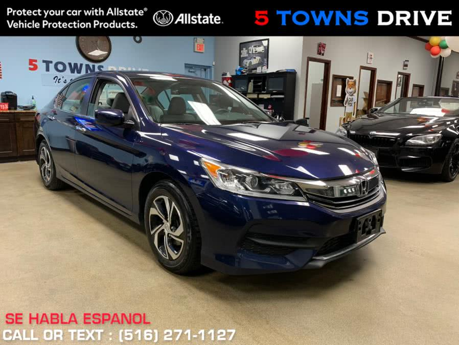Used Honda Accord Sedan LX CVT 2017 | 5 Towns Drive. Inwood, New York