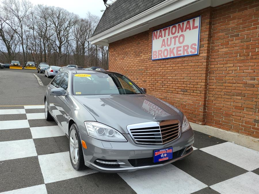 Used Mercedes-Benz S-Class 4dr Sdn S550 4MATIC 2012 | National Auto Brokers, Inc.. Waterbury, Connecticut