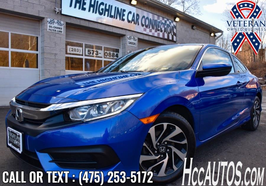 Used 2017 Honda Civic Coupe in Waterbury, Connecticut | Highline Car Connection. Waterbury, Connecticut