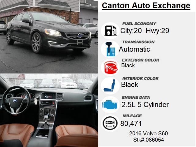 Used Volvo S60 T5 Inscription Platinum 2016 | Canton Auto Exchange. Canton, Connecticut