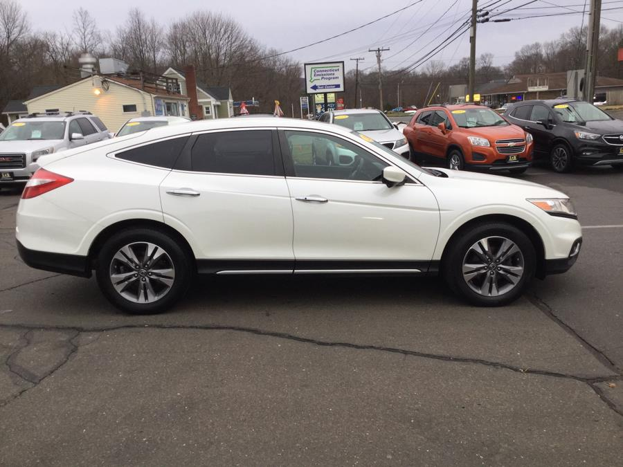 Used Honda Crosstour 4WD V6 5dr EX-L 2014 | L&S Automotive LLC. Plantsville, Connecticut