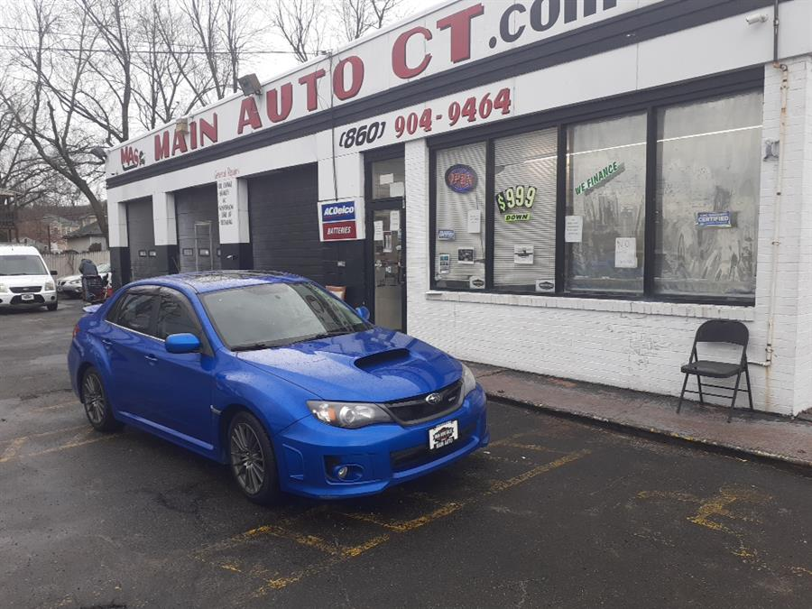 Used Subaru Impreza Sedan WRX 4dr Man WRX Limited 2011 | Main Auto Sales LLC. Hartford, Connecticut