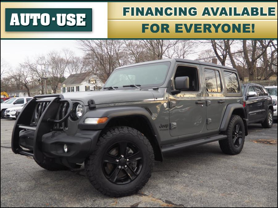 Used 2020 Jeep Wrangler Unlimited in Andover, Massachusetts | Autouse. Andover, Massachusetts
