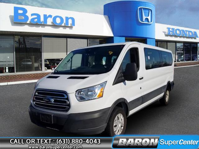 Used 2019 Ford Transit Passenger Wagon in Patchogue, New York | Baron Supercenter. Patchogue, New York