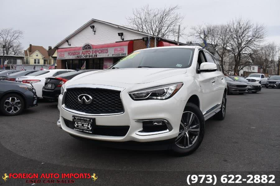 Used INFINITI QX60 AWD 2018 | Foreign Auto Imports. Irvington, New Jersey