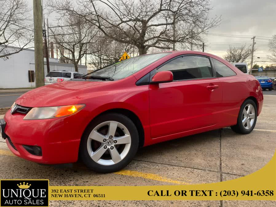 Used 2008 Honda Civic Cpe in New Haven, Connecticut | Unique Auto Sales LLC. New Haven, Connecticut