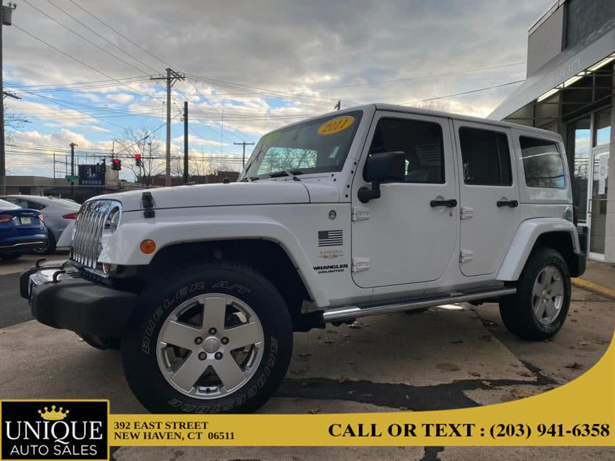Used Jeep Wrangler Unlimited 4WD 4dr Sahara 2011 | Unique Auto Sales LLC. New Haven, Connecticut