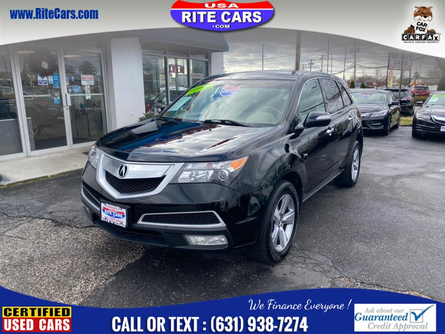 Used Acura MDX AWD 4dr Tech Pkg 2012 | Rite Cars, Inc. Lindenhurst, New York