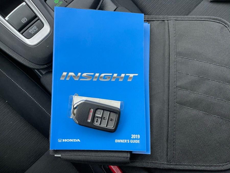 Used Honda Insight LX CVT 2019 | Toro Auto. East Windsor, Connecticut