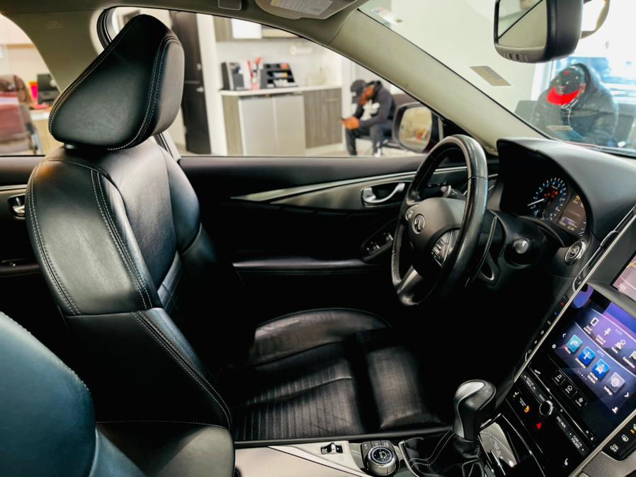 Used INFINITI Q50 4dr Sdn 3.0t Sport AWD 2016   Luxury Motor Club. Franklin Square, New York