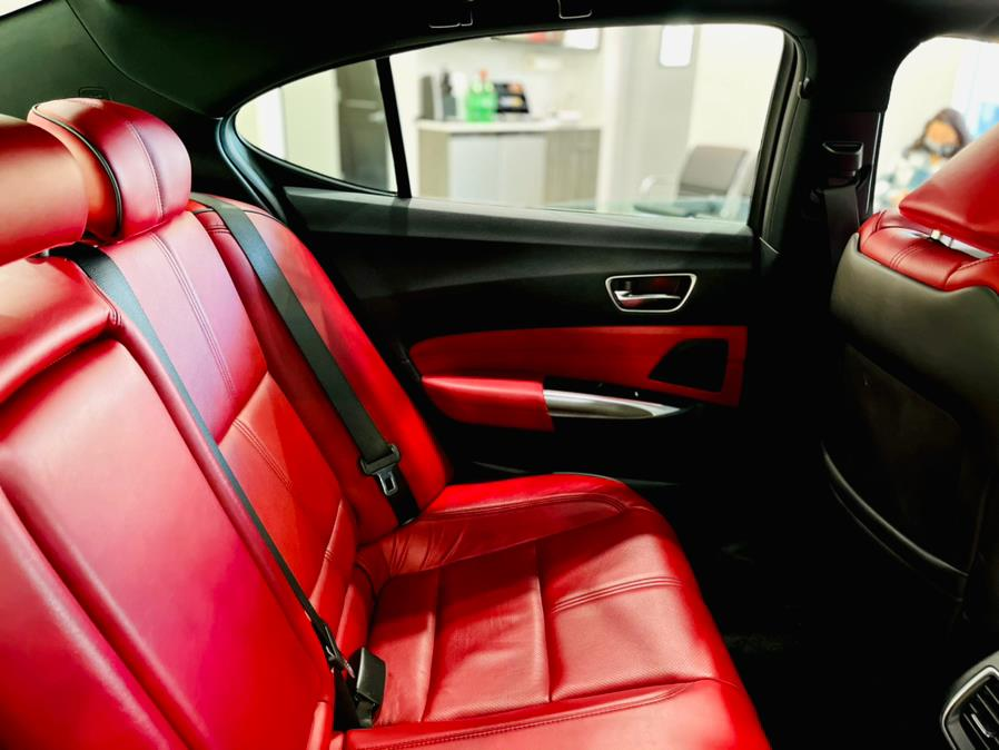 Used Acura TLX 3.5L SH-AWD w/A-SPEC Pkg Red Leather 2018 | Luxury Motor Club. Franklin Square, New York