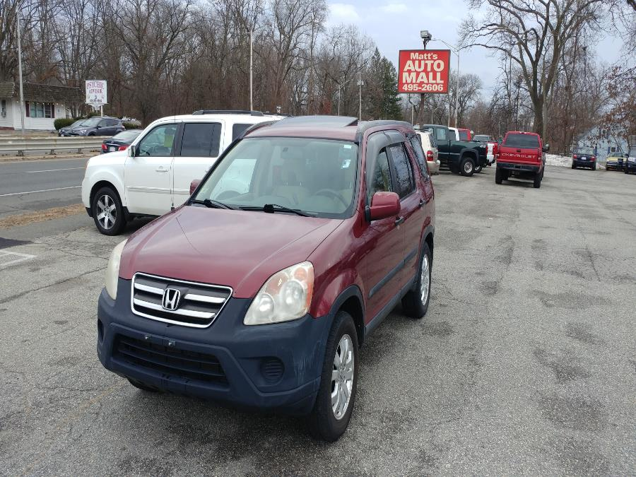 Used 2006 Honda CR-V in Chicopee, Massachusetts | Matts Auto Mall LLC. Chicopee, Massachusetts