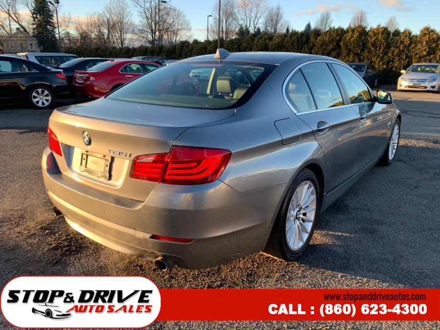Used BMW 5 Series 4dr Sdn 535i xDrive AWD 2011 | Stop & Drive Auto Sales. East Windsor, Connecticut