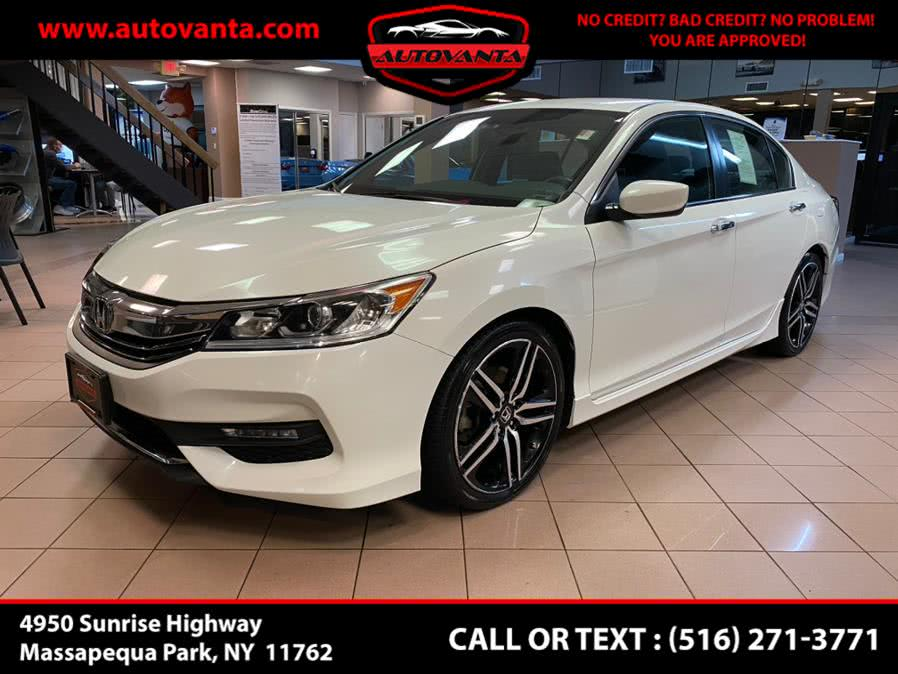 Used Honda Accord Sedan Sport SE CVT 2017 | Autovanta. Massapequa Park, New York