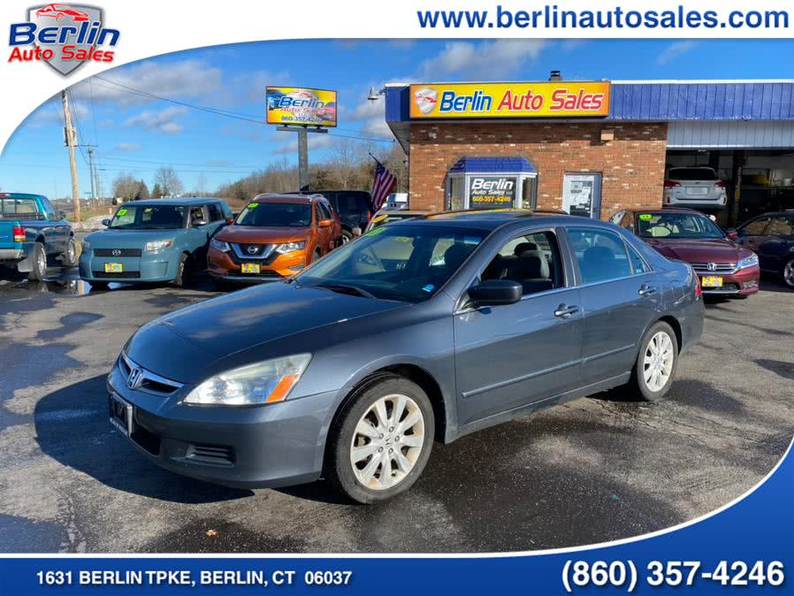 Used Honda Accord Sdn 4dr V6 AT EX-L 2007 | Berlin Auto Sales LLC. Berlin, Connecticut