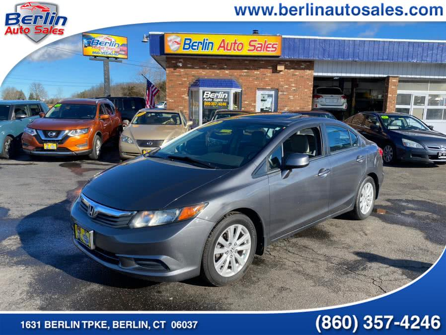 Used Honda Civic Sdn 4dr Auto EX w/Navi 2012 | Berlin Auto Sales LLC. Berlin, Connecticut