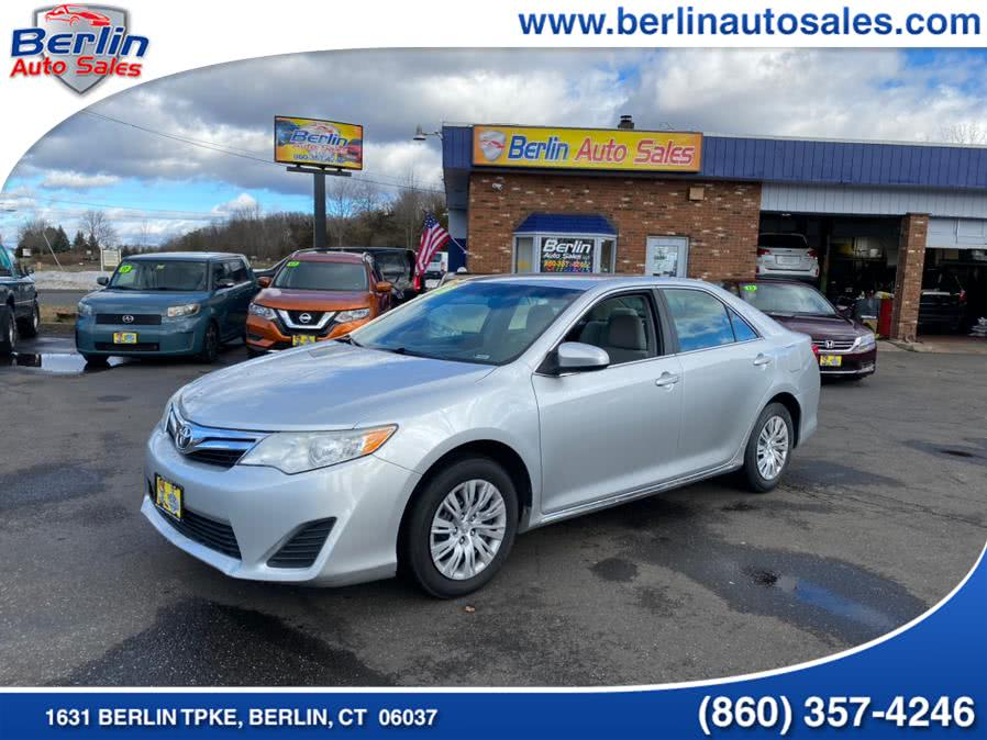 Used Toyota Camry 4dr Sdn I4 Auto LE (Natl) 2013 | Berlin Auto Sales LLC. Berlin, Connecticut