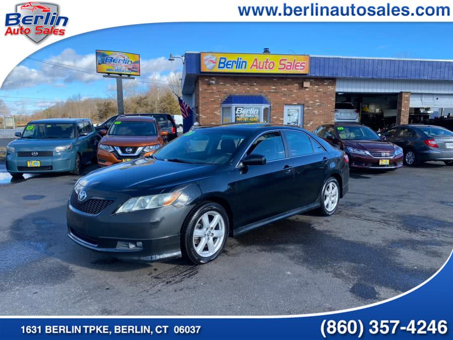 Used Toyota Camry 4dr Sdn I4 Auto SE (Natl) 2007 | Berlin Auto Sales LLC. Berlin, Connecticut
