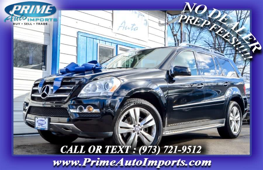 Used Mercedes-Benz GL-Class 4MATIC 4dr GL 450 2011 | Prime Auto Imports. Bloomingdale, New Jersey