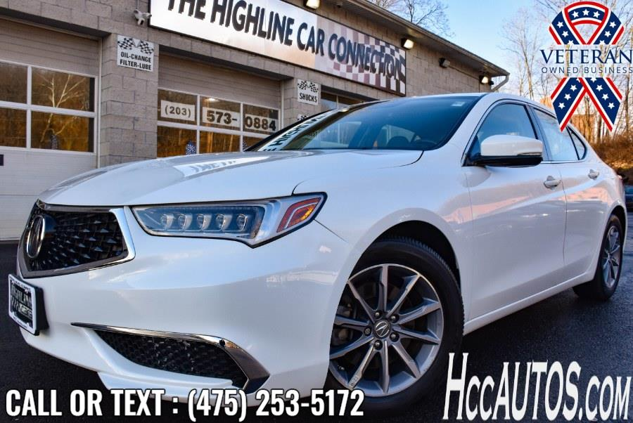 Used 2018 Acura TLX in Waterbury, Connecticut | Highline Car Connection. Waterbury, Connecticut