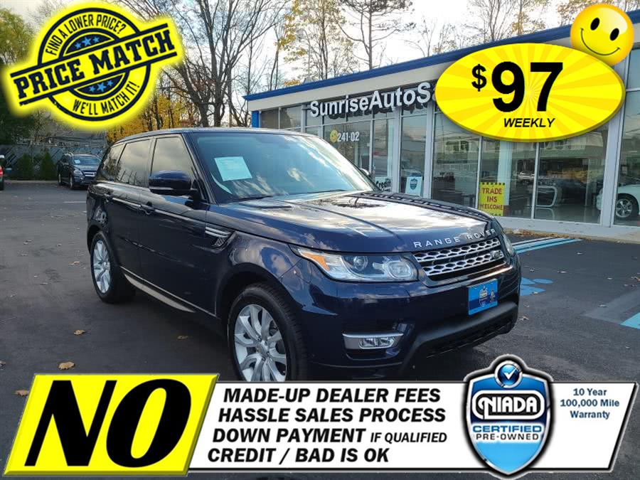 Used Land Rover Range Rover Sport 4WD 4dr HSE 2014 | Sunrise Auto Sales. Rosedale, New York