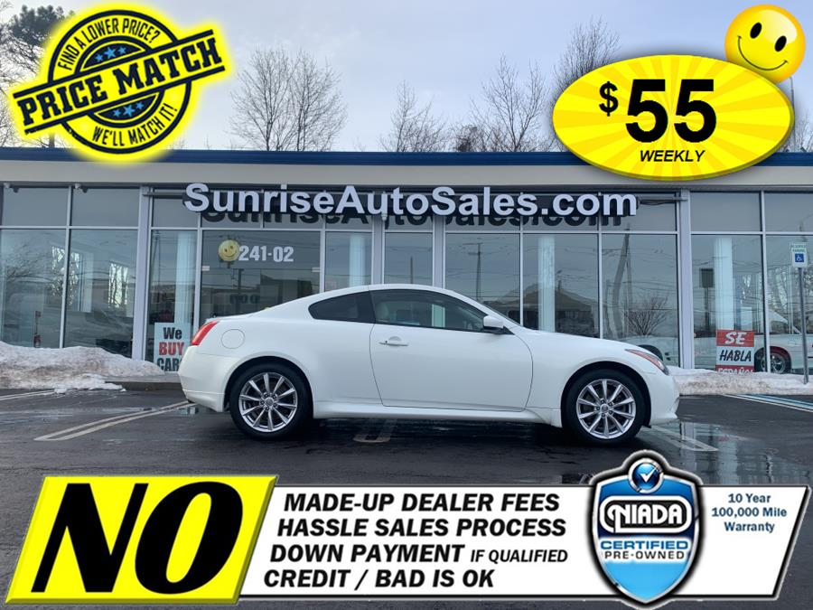 Used 2012 Infiniti G37 Coupe in Rosedale, New York | Sunrise Auto Sales. Rosedale, New York
