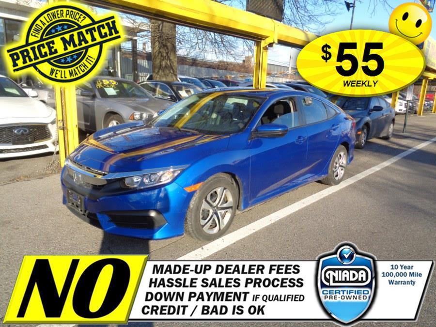 Used 2017 Honda Civic Sedan in Rosedale, New York | Sunrise Auto Sales. Rosedale, New York