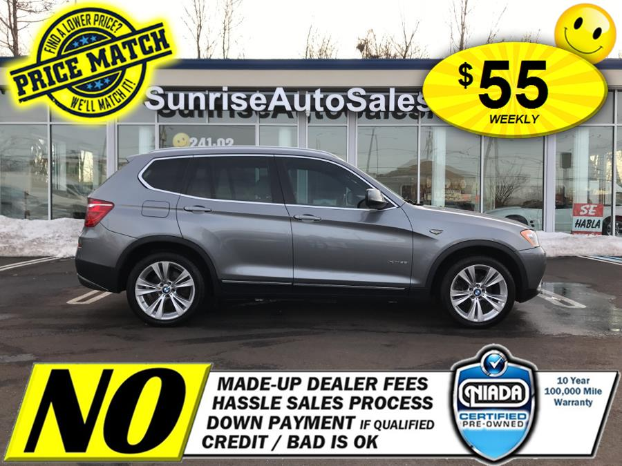 Used 2013 BMW X3 in Rosedale, New York | Sunrise Auto Sales. Rosedale, New York